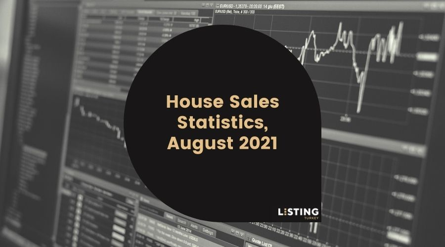 House Sales Statistics, August 2021 Cover
