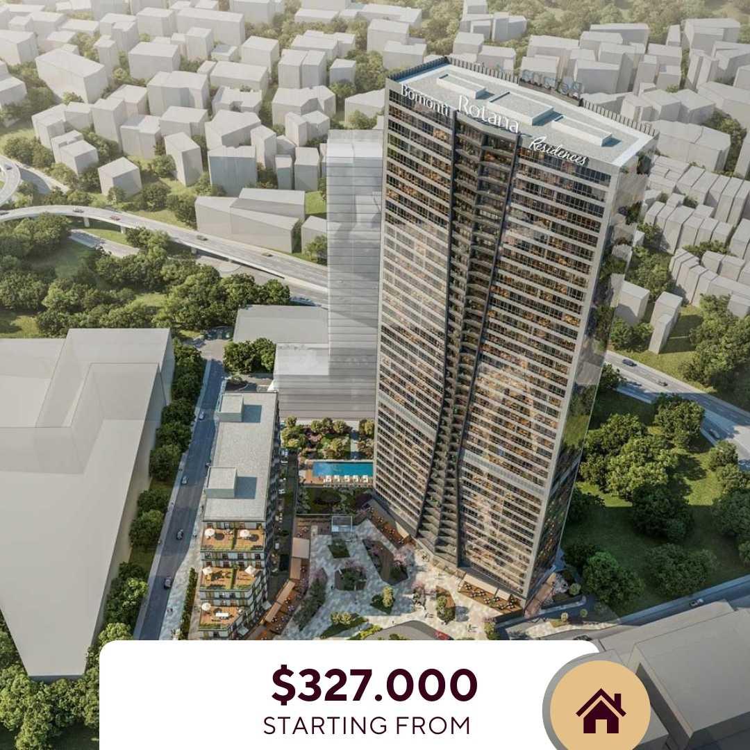 Listing Turkey - Bomonti Rotana Residence- Apartments For Sale